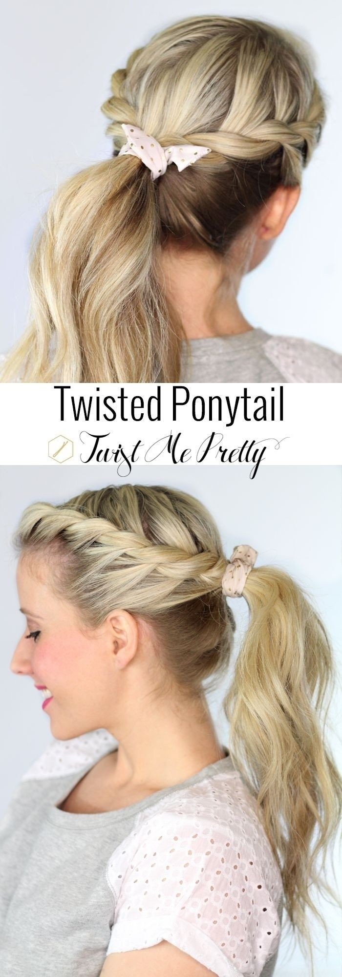 Cute Hairstyles That Are Easy  20 Ponytail Hairstyles Discover Latest Ponytail Ideas Now