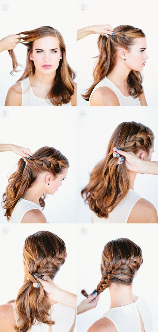Cute Hairstyles With Extensions  5 Minutes Cute Daily Hairstyles with Long Hair Extensions