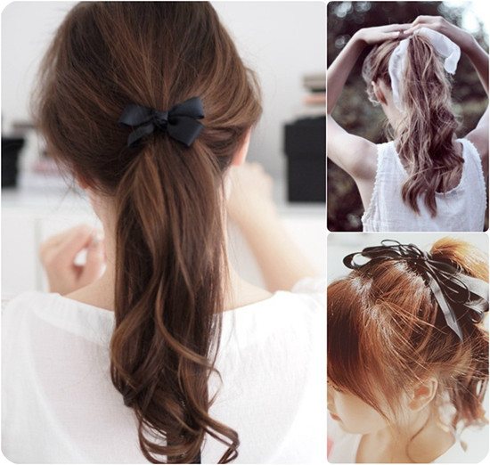 Cute Hairstyles With Extensions  59 Easy Ponytail Hairstyles for School Ideas