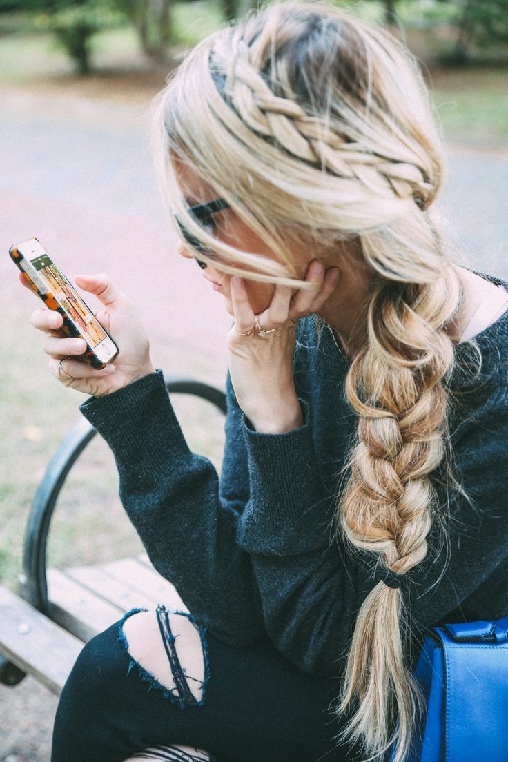 Cute Hairstyles With Extensions  15 Messy Fishtail Braid Ideas For Teenage – Easy Spring