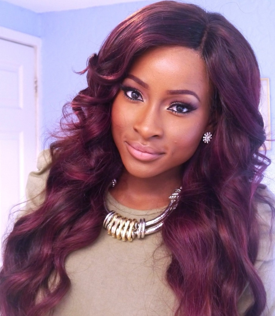 Best ideas about Cute Hairstyles With Weave . Save or Pin Cute Hairstyles With Weave Now.