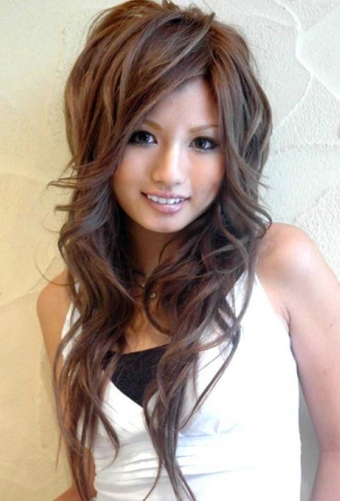 Cute Long Layered Haircuts  Cute Asian Hairstyles for Girls High Volume & Waves