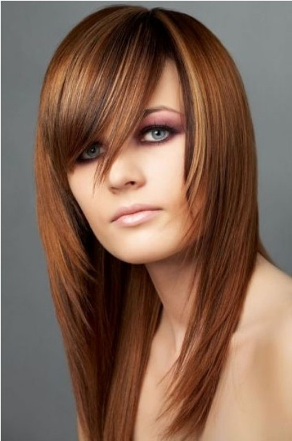 Cute Long Layered Haircuts  Long Hairstyles for Round Faces – CircleTrest