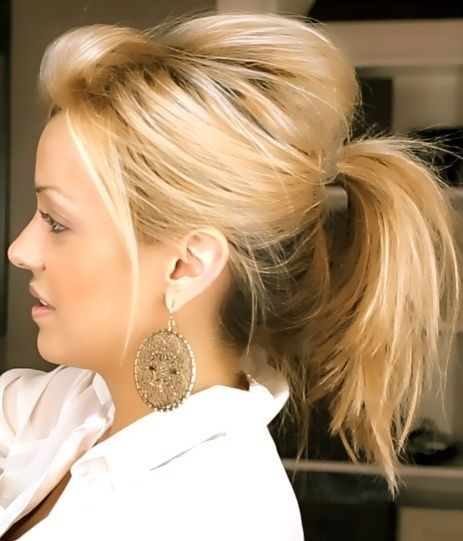 Cute Messy Hairstyles  20 Ponytail Hairstyles Discover Latest Ponytail Ideas Now