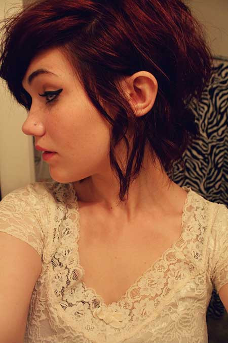 Cute Messy Hairstyles  Short Haircuts for Women 2013