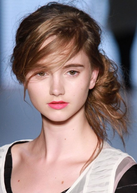 Cute Messy Hairstyles  Classy Simple Feminine Updo for Women The Bun Hairstyles