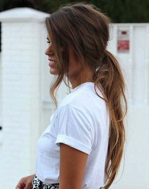 Cute Messy Hairstyles  Messy Chic Hairstyles from Pinterest Women Hairstyles