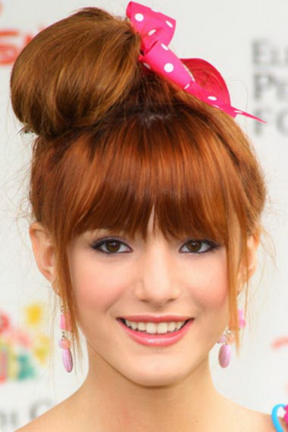 Cute Messy Hairstyles  Cute Messy Bun Hairstyles 2013 Fashion Trends Styles for