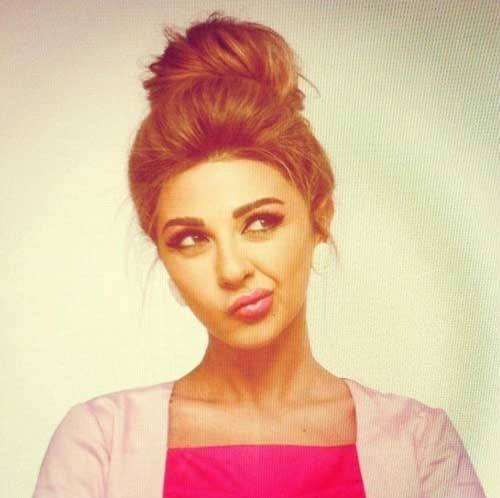 Cute Messy Hairstyles  20 Messy Bun Hairstyles for Long Hair