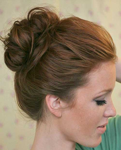 Cute Messy Hairstyles  15 Messy Buns Hairstyles