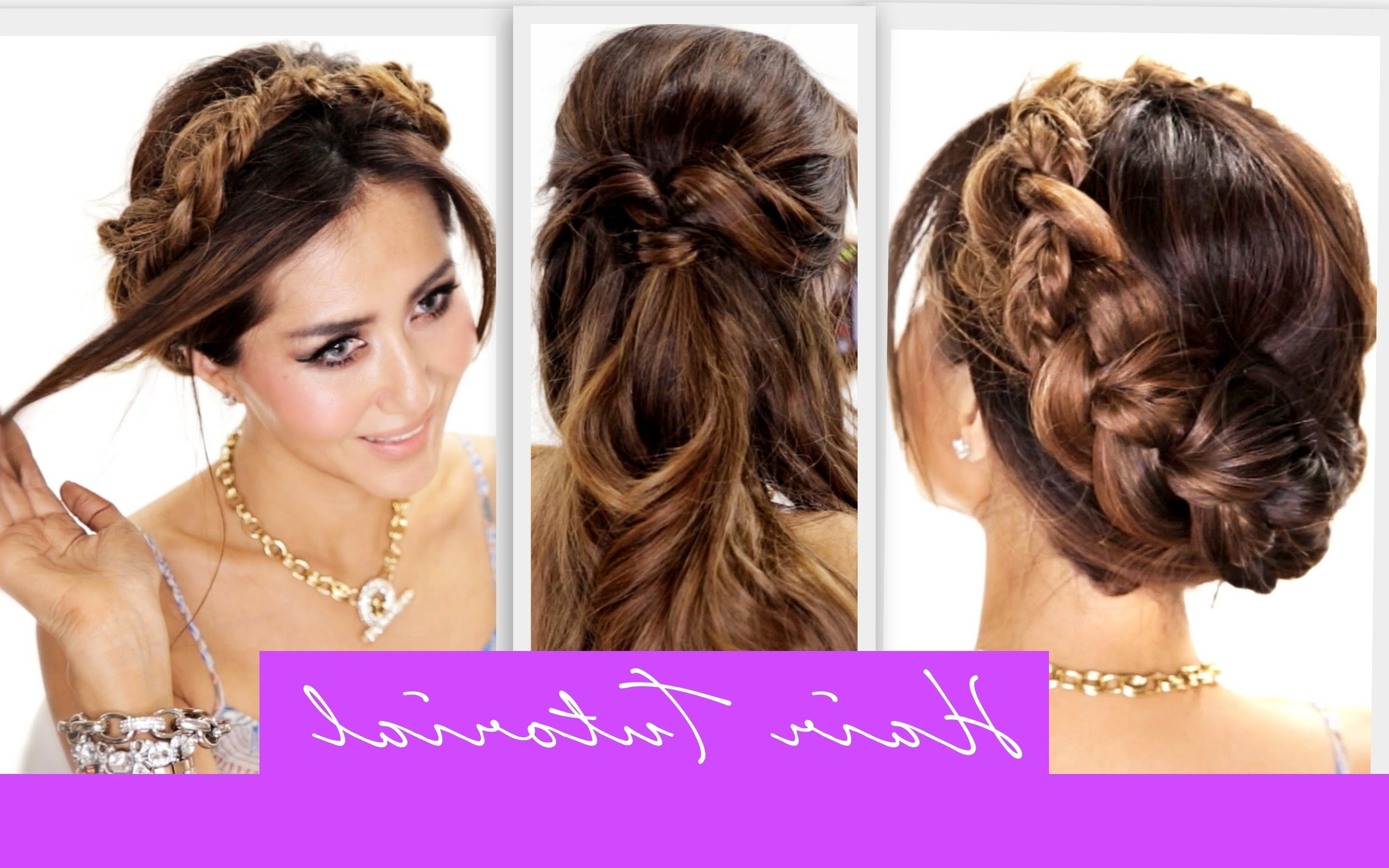 Cute Simple Hairstyles  Cute Simple Braided Hairstyles