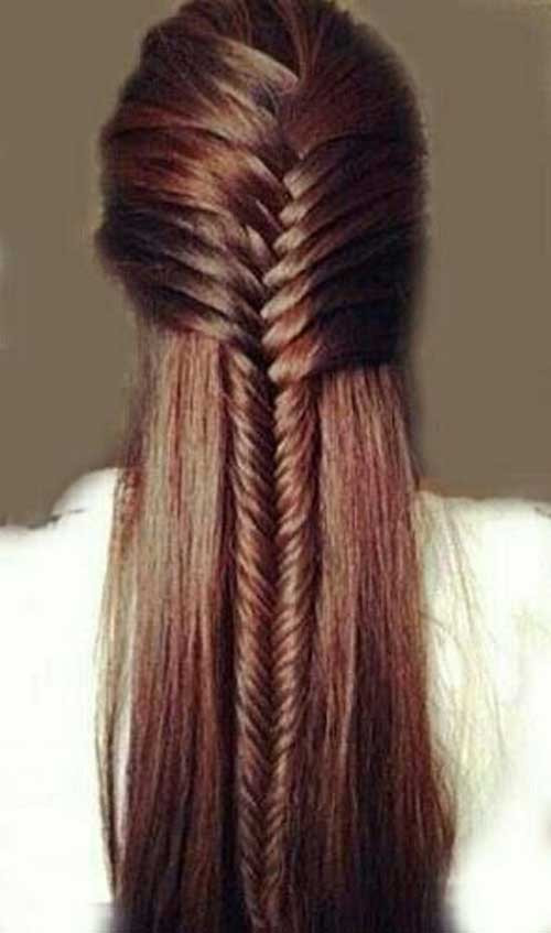 Cute Simple Hairstyles  20 Cute Styles for Long Hair