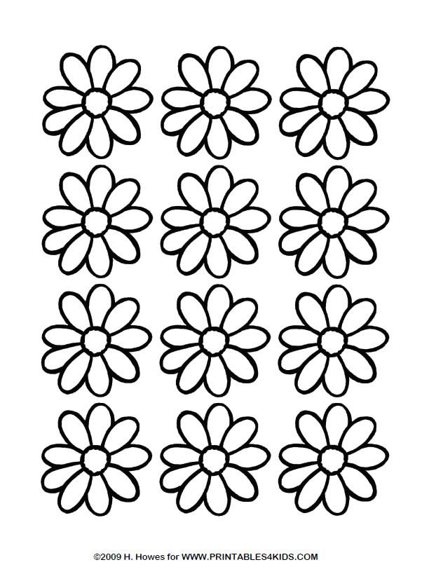 Daisy Coloring Pages  Daisy Coloring Pages and Printable