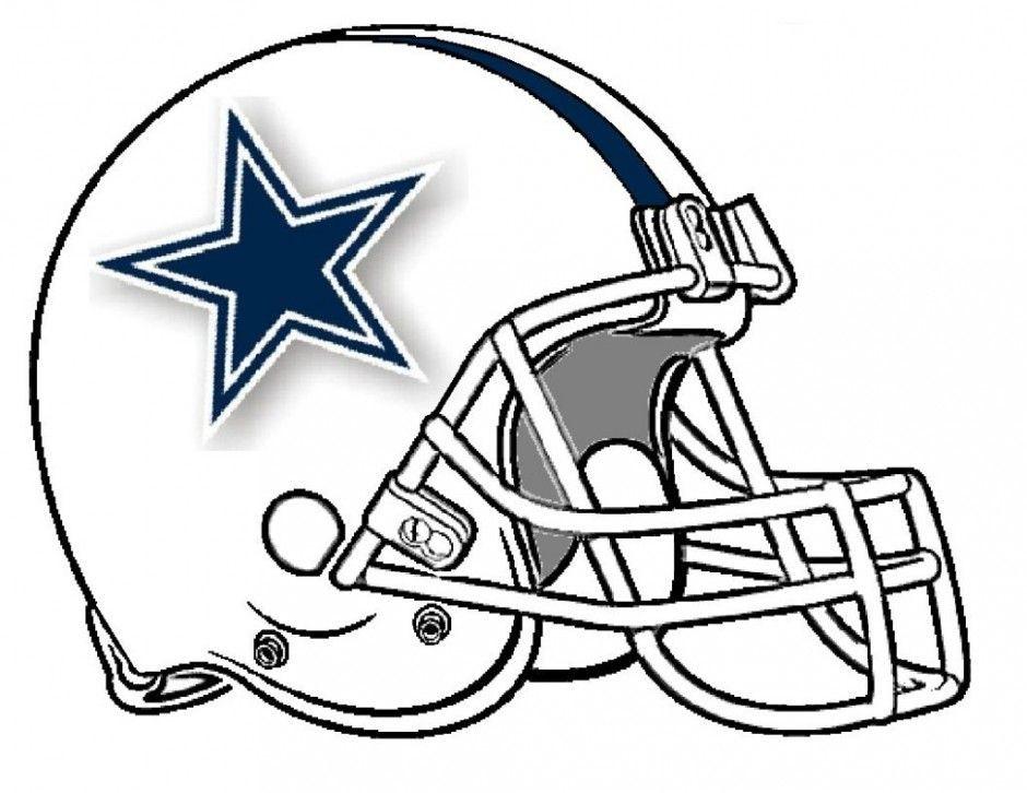 Dallas Cowboys Coloring Pages  Dallas Cowboys Helmet Coloring Pages Coloring Home