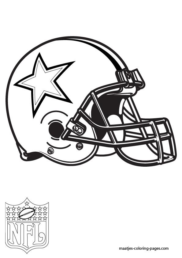 Dallas Cowboys Coloring Pages  Cowboys Logo Coloring Pages