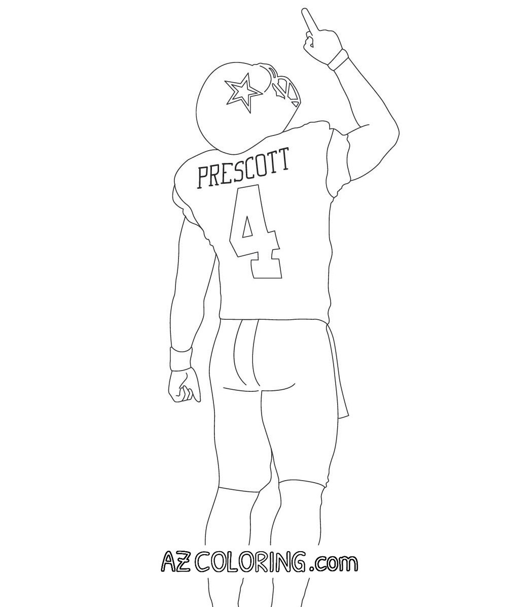 Dallas Cowboys Coloring Pages  Dallas Cowboys Coloring Pages For Kids Home Sketch