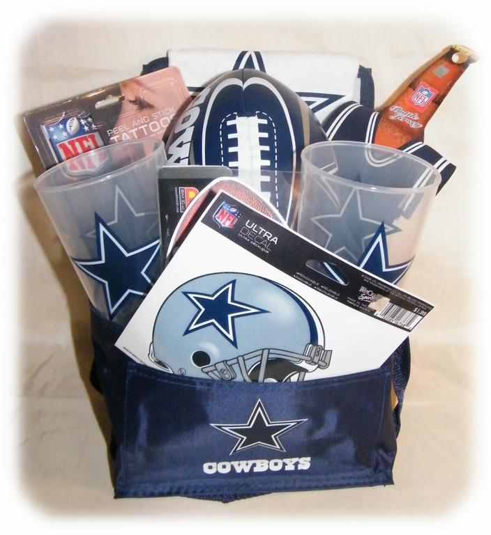Dallas Cowboys Gift Ideas  Dallas Cowboys Gift from DFW Gift Baskets in Dallas TX