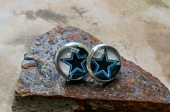 Dallas Cowboys Gift Ideas  Dallas Cowboys earrings t ideas for her under 10 NFL