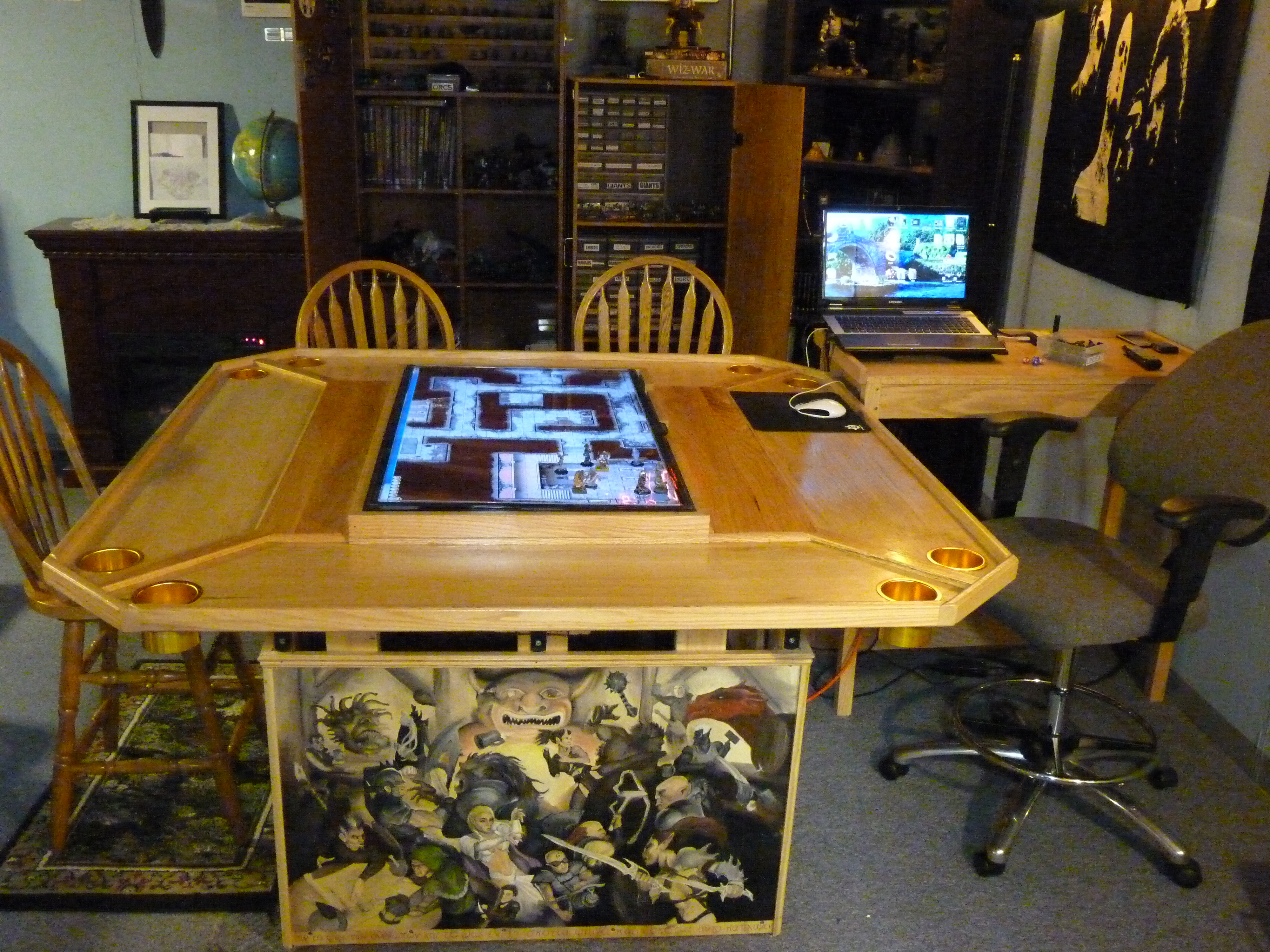 Best ideas about D&D Game Room . Save or Pin I am asking $2800 Now.