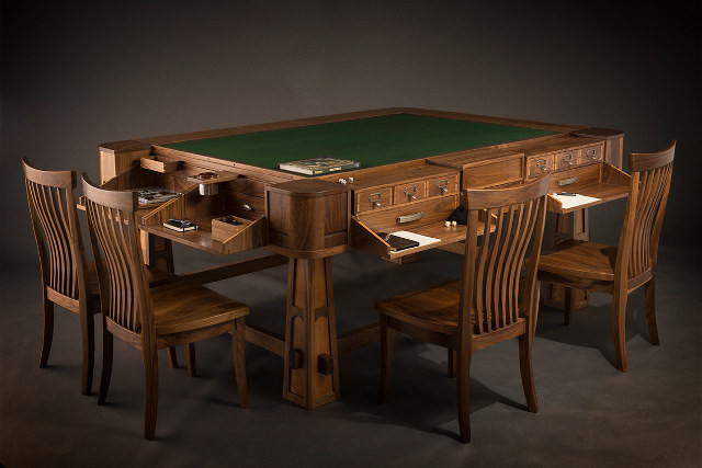 Best ideas about D&D Game Room . Save or Pin D&D For The Rich Beautifully Crafted Gaming Tables Now.