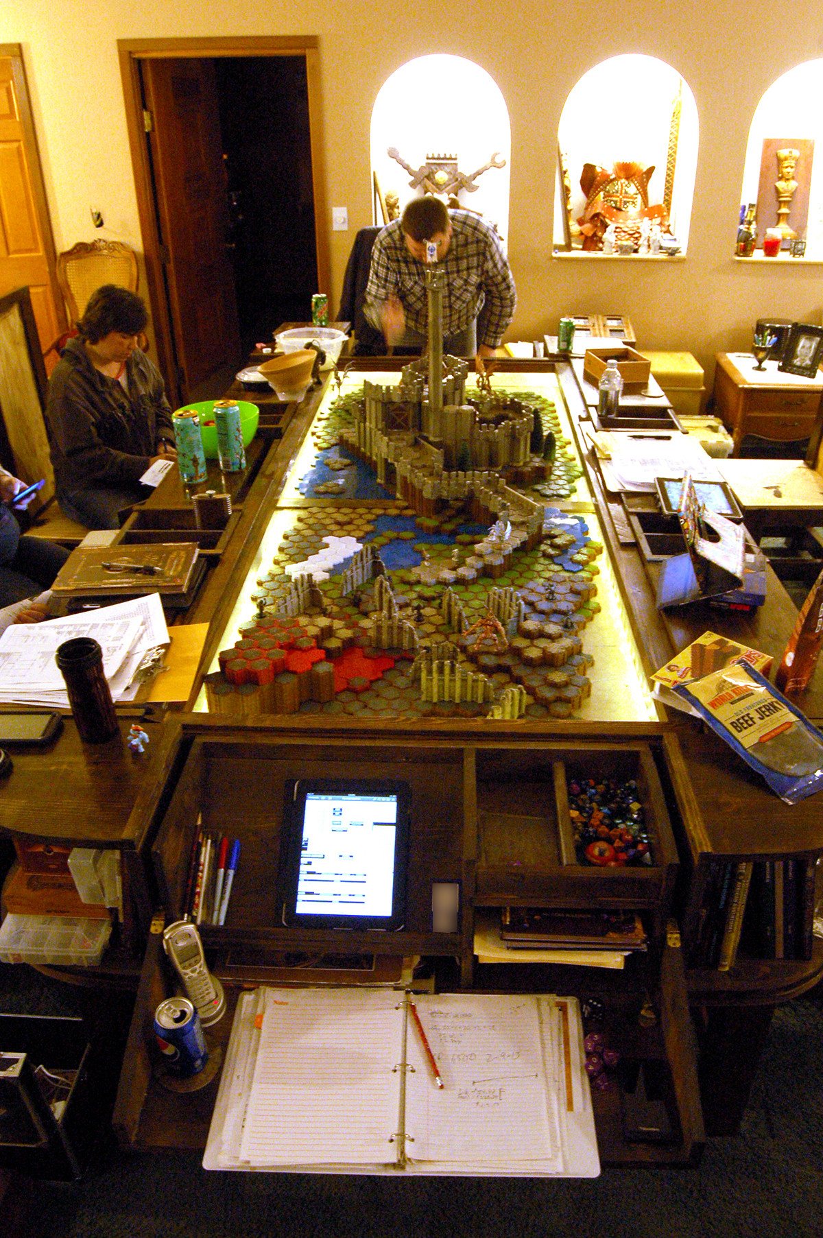 Best ideas about D&D Game Room . Save or Pin Game Table – No 1 Bagshot Row Now.
