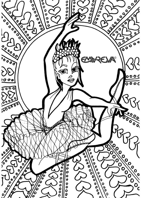 Dance Printable Coloring Pages  Dance Coloring Pages Bestofcoloring