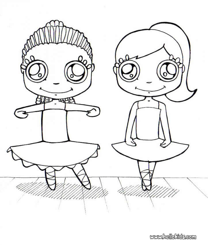 Dance Printable Coloring Pages  Dance Coloring Page Coloring Home