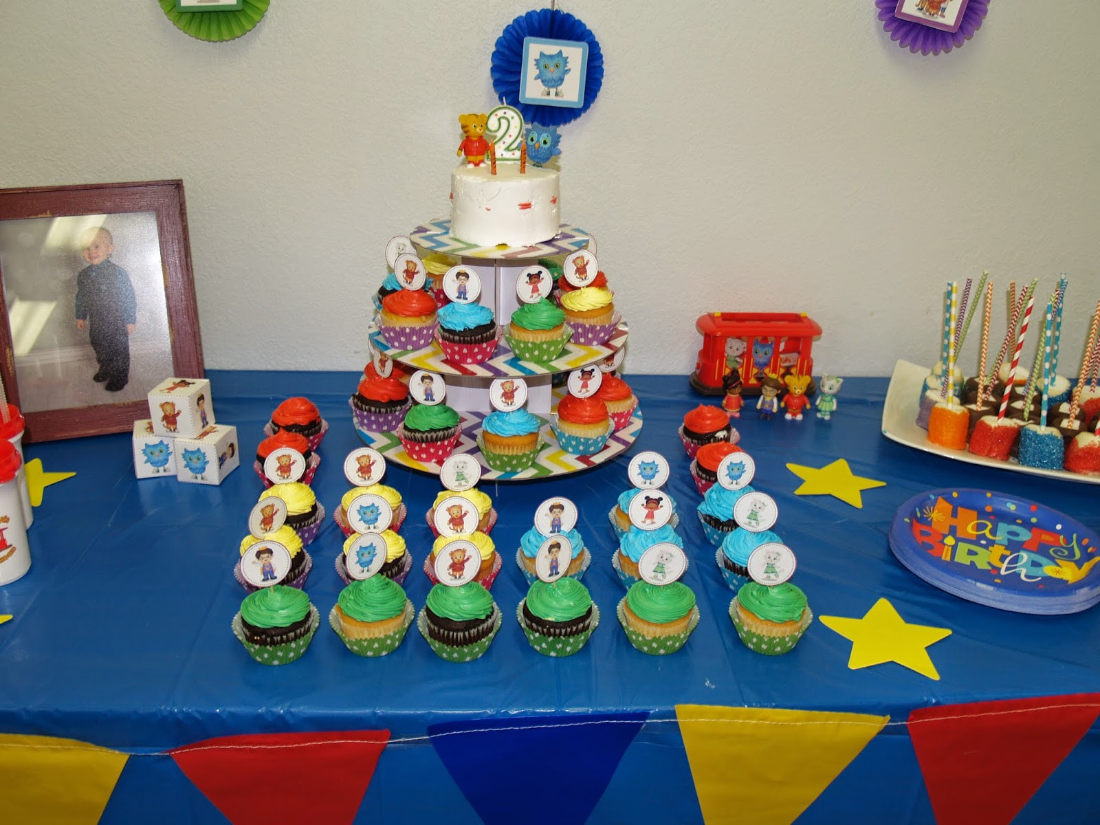 Best ideas about Daniel Tiger Birthday Party . Save or Pin Writing Reading and Eating The Big Daniel Tiger Now.