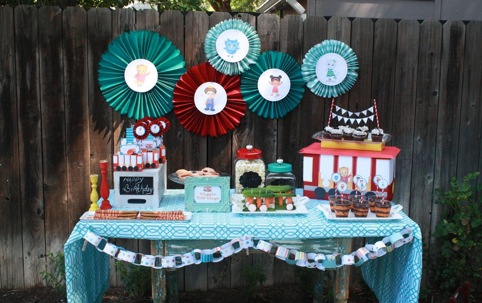 Best ideas about Daniel Tiger Birthday Party . Save or Pin Juneberry Lane August 2013 Now.