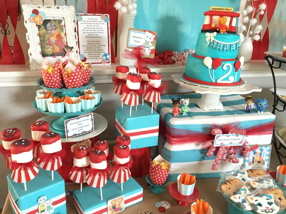 Best ideas about Daniel Tiger Birthday Party . Save or Pin Daniel Tiger s Neighborhood Birthday Party Ideas Now.