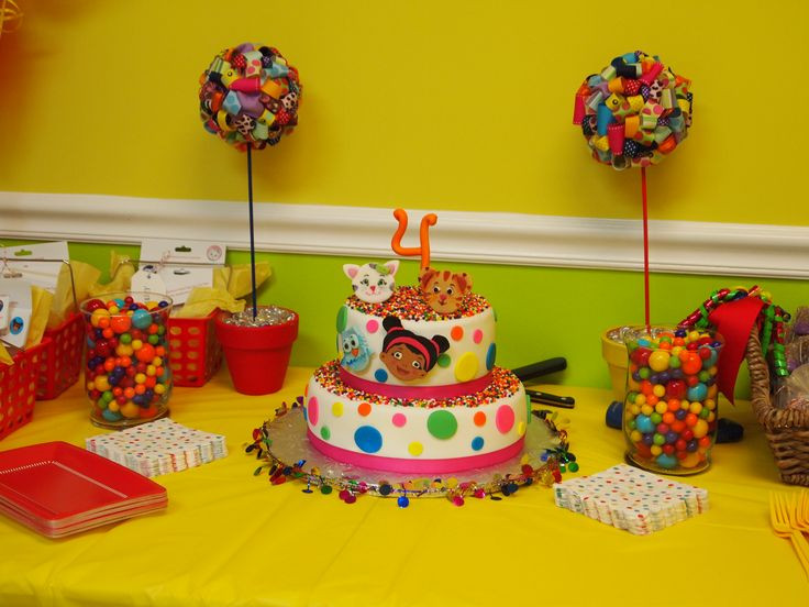 Best ideas about Daniel Tiger Birthday Party . Save or Pin 17 Best images about Daniel Tiger s Neighborhood 4th Now.