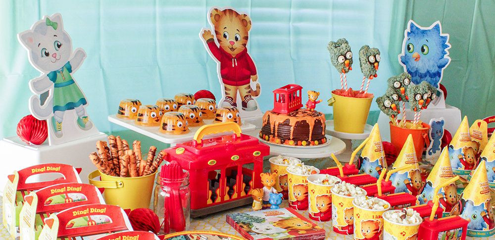 Best ideas about Daniel Tiger Birthday Party . Save or Pin Daniel Tiger Party Ideas Now.