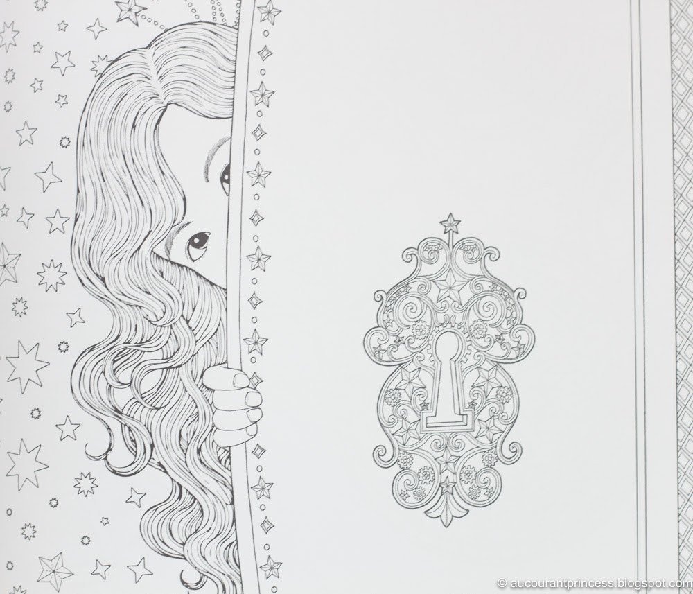 Daria Song Coloring Books  A Glad Diary The Time Chamber Coloring Book by Daria Song