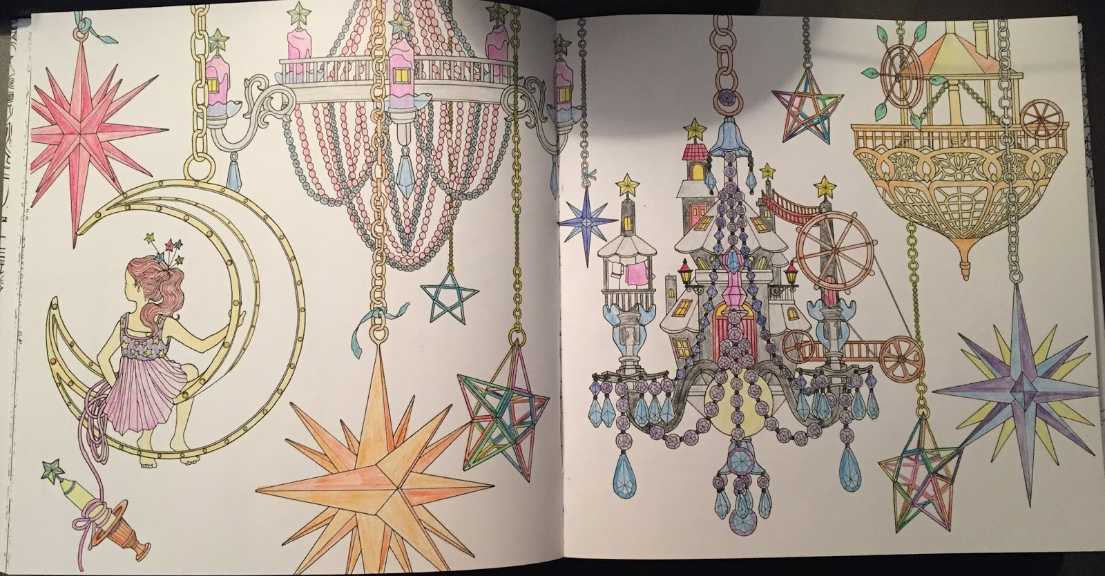 "Daria Song Coloring Books  In Medias Res Review ""The Time Chamber"" by Daria Song"