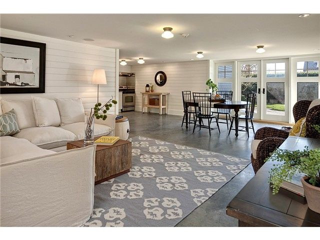 Best ideas about Daylight Basement Ideas . Save or Pin Great daylight basement love the wood walls Now.