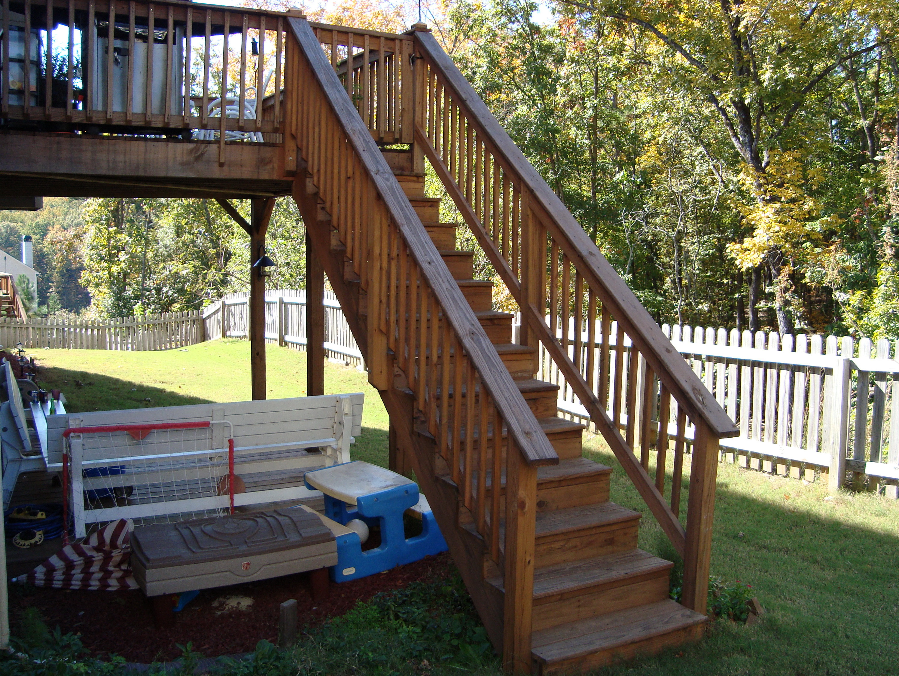 Best ideas about Deck Stairs Code . Save or Pin Deck Stair Handrail Code Now.