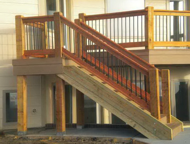 Best ideas about Deck Stairs Code . Save or Pin Deck Stair Rail Height Code Now.