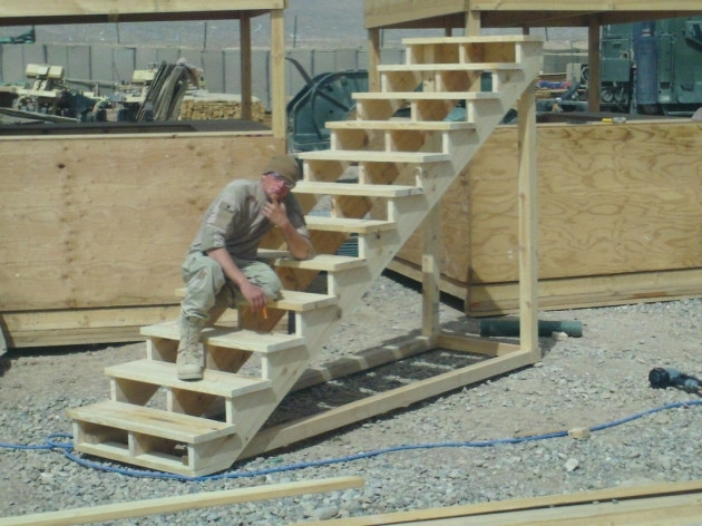 Best ideas about Deck Stairs Code . Save or Pin Building Stairs For A Deck With Railing Code Requirements Now.