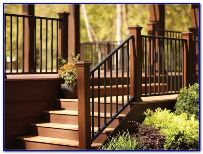 Best ideas about Deck Stairs Code . Save or Pin Deck Stairs Railing Code Decks Home Decorating Ideas Now.
