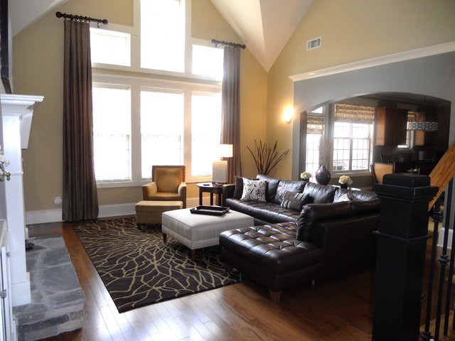 Best ideas about Decor Ideas For Family Room . Save or Pin Modern but warm Modern Family Room Chicago Now.
