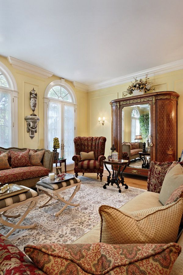 Best ideas about Decor Ideas For Family Room . Save or Pin 31 Victorian Living Room Design Ideas Now.