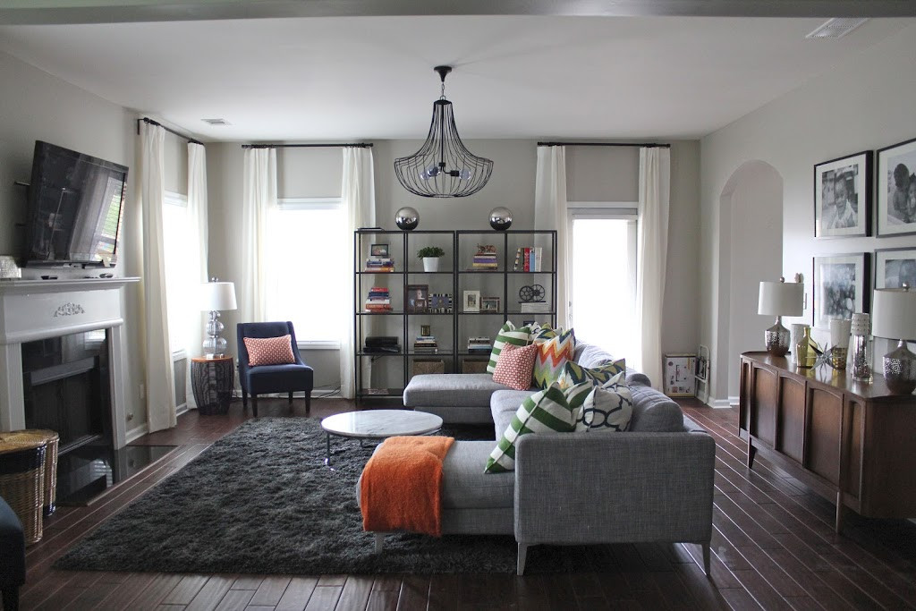 Best ideas about Decor Ideas For Family Room . Save or Pin BEFORE & AFTER MODERN FAMILY ROOM MY DESIGN TIPS Now.