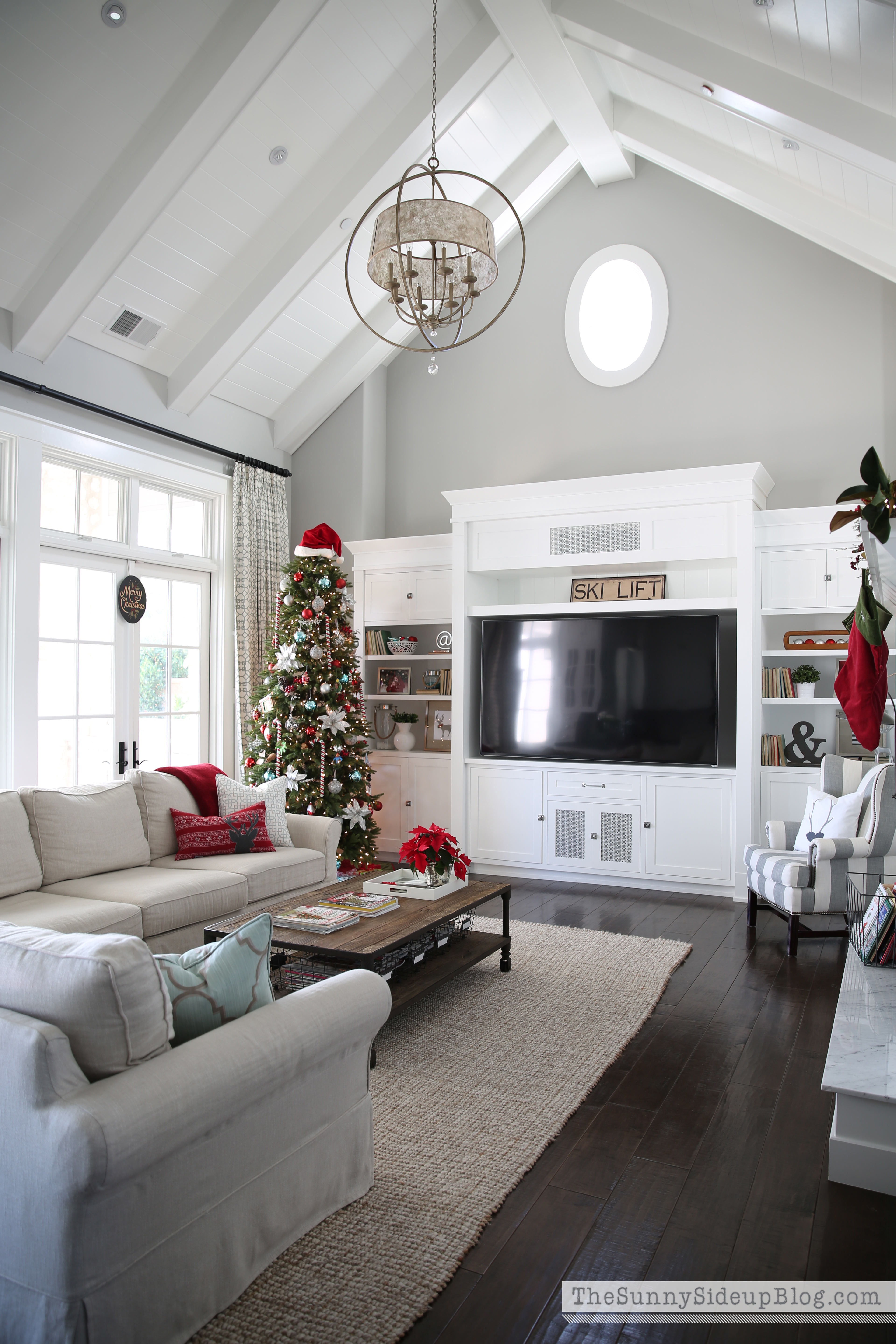 Best ideas about Decor Ideas For Family Room . Save or Pin Christmas in the family room The Sunny Side Up Blog Now.