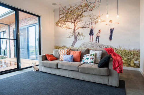 Best ideas about Decor Ideas For Family Room . Save or Pin 15 Fun Features for Family Rooms Now.