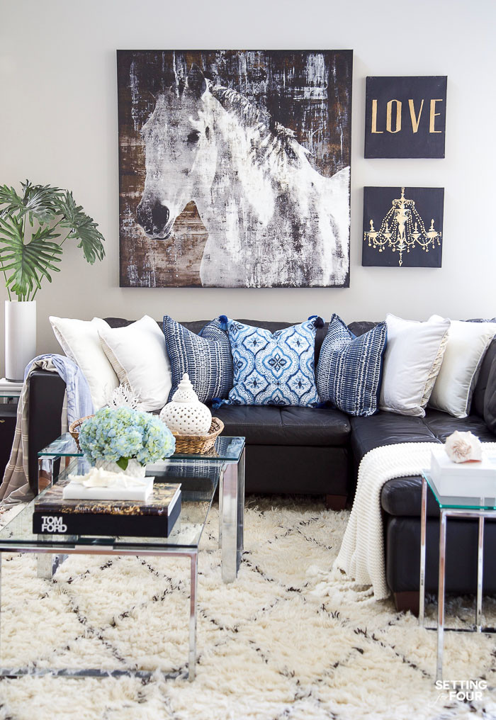 Best ideas about Decor Ideas For Family Room . Save or Pin Summer Decor Ideas For Your Entryway And Family Room Now.