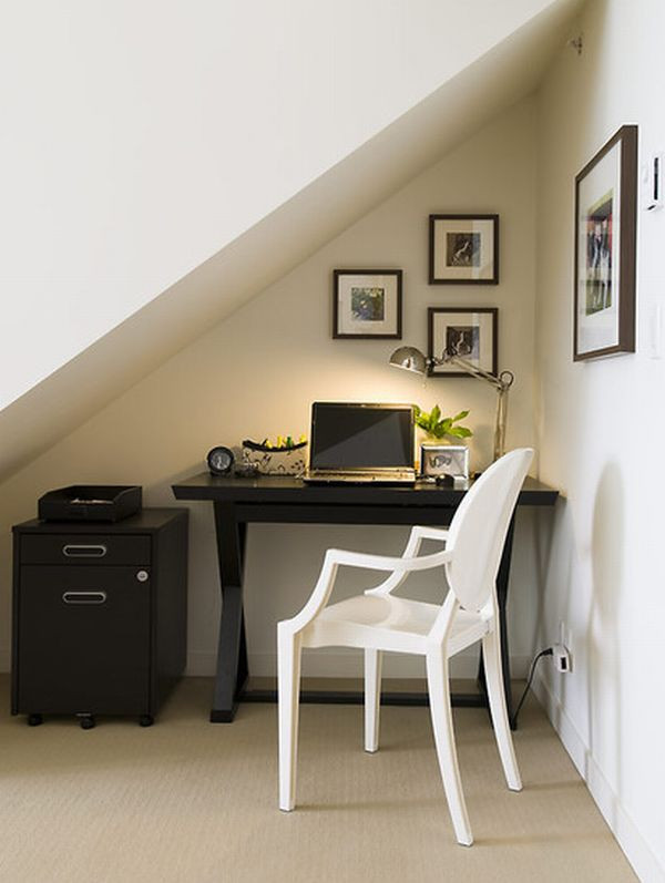 Best ideas about Decorating Small Office Space . Save or Pin 20 Home fice Design Ideas for Small Spaces Now.