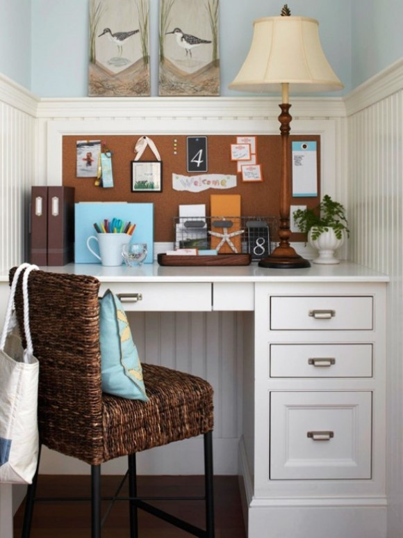 Best ideas about Decorating Small Office Space . Save or Pin 25 Great Home fice Decor Ideas Style Motivation Now.