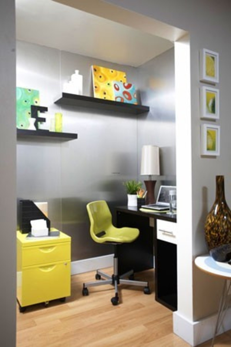 Best ideas about Decorating Small Office Space . Save or Pin Small fice Design Inspirations Maximizing Work Now.