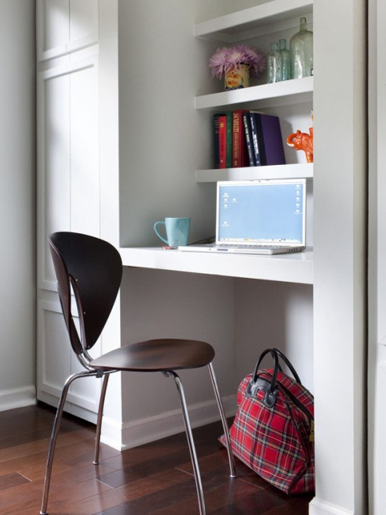 Best ideas about Decorating Small Office Space . Save or Pin Kleine werkplek in huis Now.