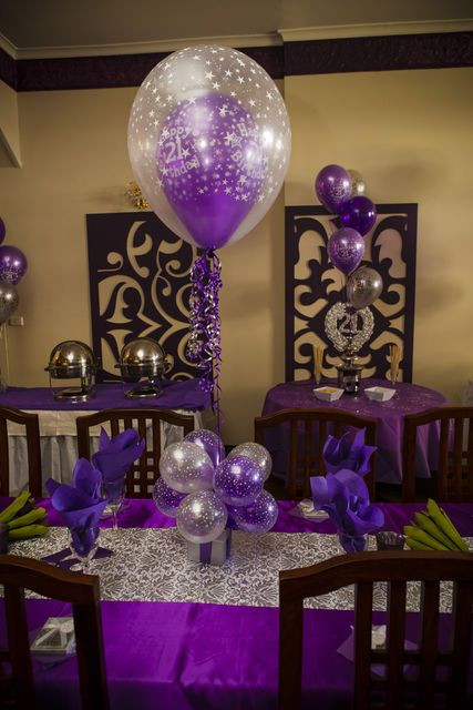Decorations For 21st Birthday  17 best images about 21st birthday party on Pinterest